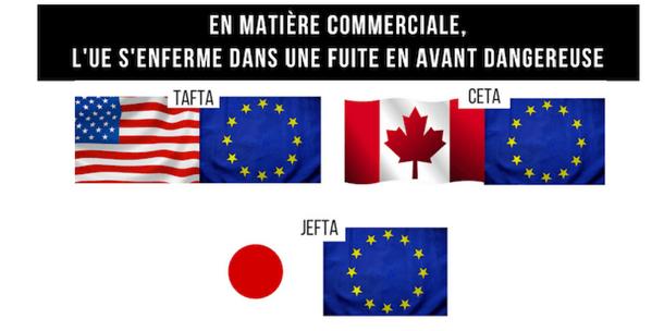 CETA TAFTA JEFTA des traités anti démocratique
