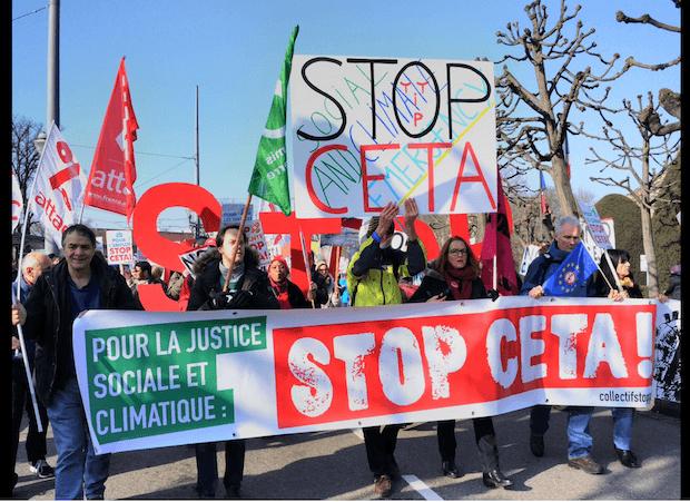 Vote du CETA au Parlement européen