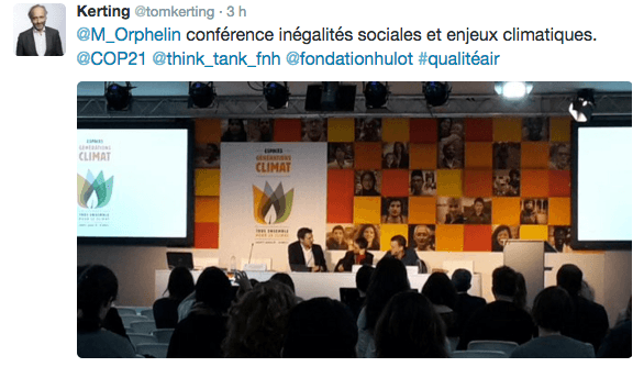 Inegalites sociales conference