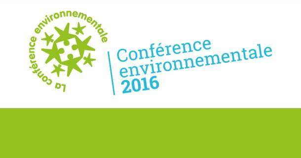 Conférence environnementale 2016