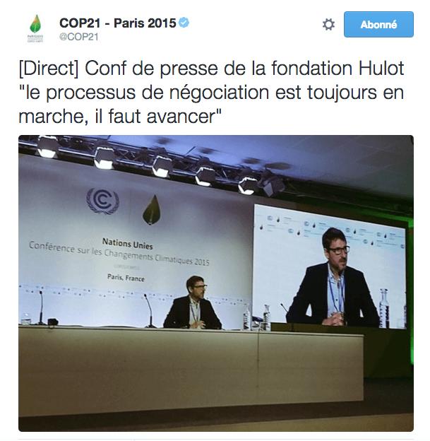 processus en marche COP21