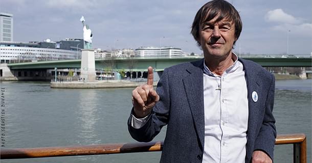 Nicolas Hulot lance l'appel des solidarités avec 80 ONG
