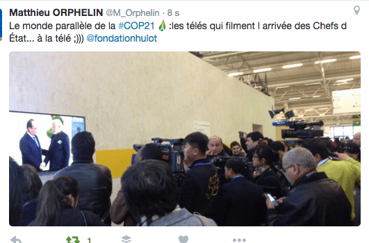 journalistes COP21