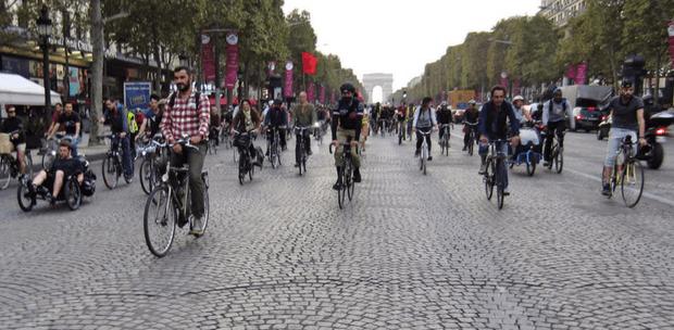 Paris sans voiture