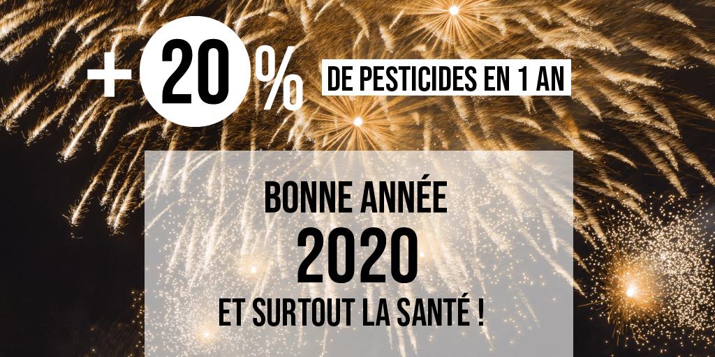 Carte de voeux pesticides 2020