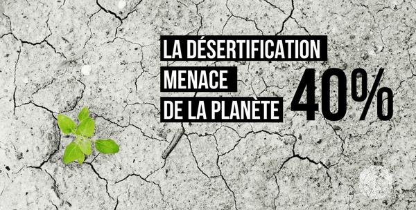 Désertification menace la planète