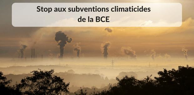 QE BCE