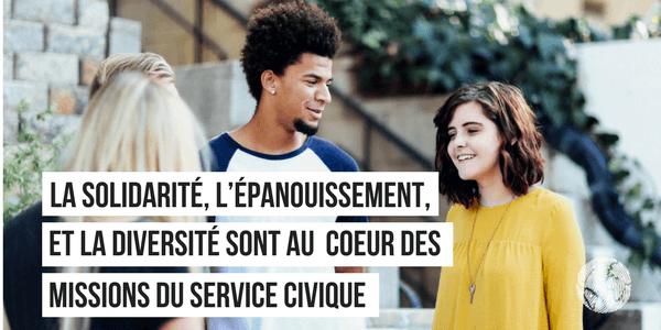 service civique et FNH